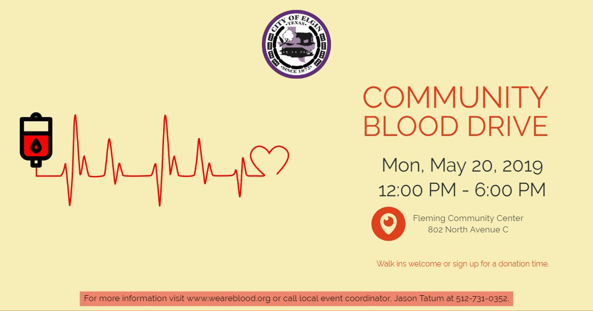CommunityBloodDrive-May