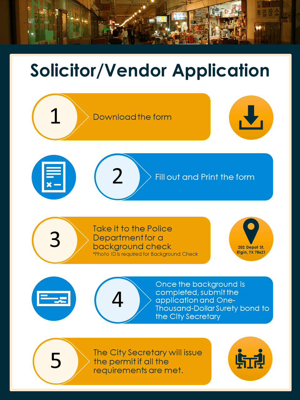 Solicitor/Vendor Permits Application Process